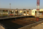 Execució d'una part de la nova àrea esportiva de Lloret de Mar - Piscina Coberta