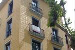 Construcció d'edifici de pisos al C/ Santa Clara de Girona