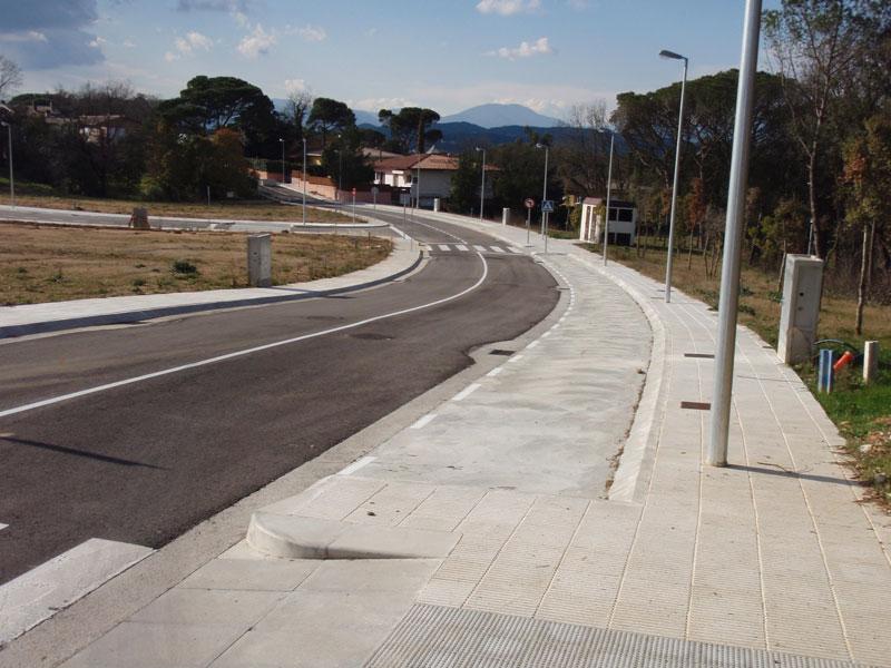 Urbanització del Camí Vell de Fornells