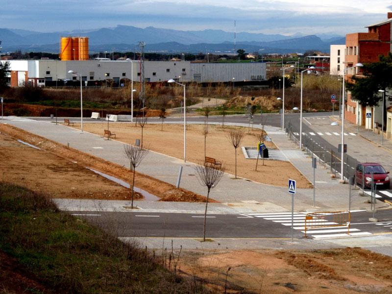 Urbanització del Sector Sau 6-9 a Cassà de la Selva
